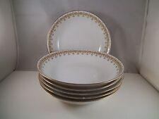 Vintage Limoges France Charles Ahrenfeldt CA Depose Set of Six Soup Bowls
