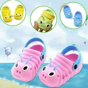 Kids Boy Girl Slip On Sandals Shoes Flat Slipper Summer Jelly Infant Shoes Sizes