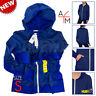 NEW Abbot Main Women's Full Zip Hoodie Hooded Jacket : Color Blue / Size S Small
