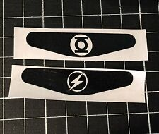 DC GREEN LANTERN + FLASH PS4 Controller Lightbar Decal Sticker set