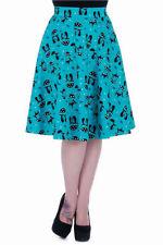 Knee Length Cotton Formal Flippy, Full Skirts for Women