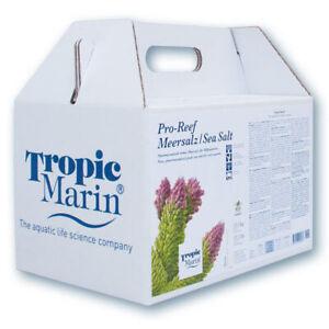 Tropic Marin Sea Salt Pro Reef 12,5kg Carrying Box Saltwater Salts New Size