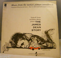 ♫ 33 T  VINYL THE JAMES DEAN STORY - MUSIC FROM THE MOTION PICTURE SOUNDTRACK ♫