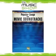New Popular Songs from Movie Soundtracks PVG Music Book - Piano Vocal Guitar