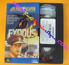 VHS film EXODUS il grande cinema di Paul Newman FABBRI VIDEO (F113*) no dvd