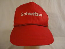 Men's Red Schwitzer Turbochargers Snapback Trucker Cap Hat