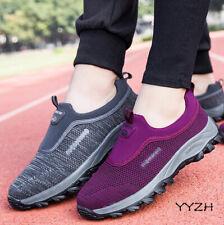 Women's Elderly Casual Comfort Walking Shoe Safety Flats Non-Slip Sneakers