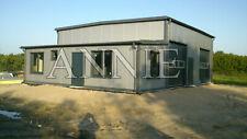 Isolierte Stahlhalle 10 x 20 x 5/ 6,00 m NEU!!