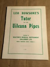 ROWSOME - TUTOR for the UILEANN PIPES - (englisch) - DUDELSACK  - NOTEN