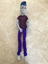 "Monster High 11"" Doll SLO MO MORTAVICH STUDENT DISEMBODY COUNCIL SCHOOL BOY"