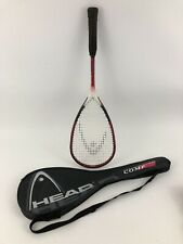Head Pyramid Power Comp Squash Racket with Carry Case Cover