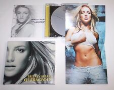 Free Shipping BRITNEY SPEARS OUTRAGEOUS CD JAPAN Slipcase