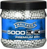 Walther Premium White Pellets 0,20 g 6 MM 5000BBs G8DS  Sticker