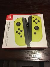 Nintendo Switch - Neon Yellow Joy-Con (L/R) - Wireless Controllers