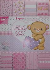 Joy crafts, bébé bloc rose - 32 feuilles 210 x 150 cm-artisanat, scrapbooking