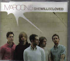 Maroon 5-She Will Be Loved Promo cd single