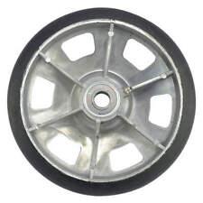 8in Cast Alum Wheel W/ Mold On Rubber CW-046