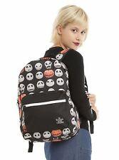 Disney Nightmare Before Christmas JACK & JACK-O-LANTERN Backpack Laptop Sleeve