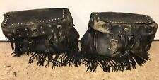Harley Big Saddle Bags and Mounts Shovelhead Panhead FL FLH Touring  #6688