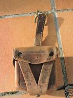 Cartouchière cuir ancienne   A identifier  2