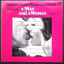 Francis Lai Claude Lelouch A MAN AND A WOMAN soundtrack LP Cannes + Oscar winner
