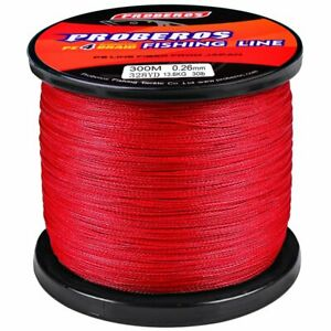 5 Colours 4 Strands 300M PE Spectra Fishing Line Powerful Braided Line 6LB-100LB
