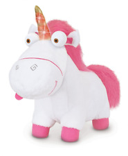 Despicable Me Fluffy Unicorn Plush with Light-Up Horn Toy Figure Soft Plushy
