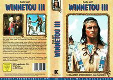 (VHS) Winnetou III - Lex Barker, Pierre Brice, Ralf Wolter, Rik Battaglia (1965)