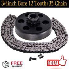 Centrifugal Clutch 3/4'' Bore 12 Tooth #35 Chain For Predator 212cc 6.5HP USA OY
