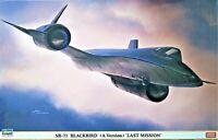 Lockheed SR-71A Blackbird Last Mission The Sled Ltd.Ed Hasegawa Model 1/72 Scale