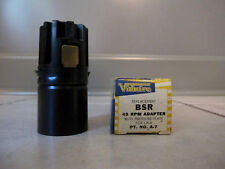 BSR MONARCH UA8 UA12 UA14 NOS 45 RPM Record Changer Spindle Stacking Adapter