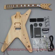Bargain Musician - GK-010 - DIY Unfinished Project Luthier Guitar Kit