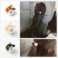 Fashion Women Girls Pearl Mini Hair Accessories Hair Claw Barrettes Hair Clips