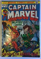 Captain Marvel #24 (Jan 1973, Marvel)