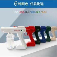 Wireless Nano Blue Light Steam Spray Disinfection Sprayer Gun 12V charging USA