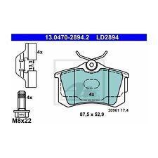 ATE 13.0470-2894.2 Bremsbelagsatz, Scheibenbremse ATE Ceramic   für VW Polo
