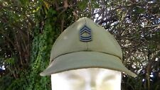 US Army Vietnam War 1960s M-1961 Hat Hot Weather OD size 6 1/2 dated 1967