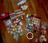 retired avon makeup rouge lipstick fragrance sample Prop Bottle Vtg lot Plz Read