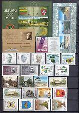Litauen postfrisch Jahrgang 2001