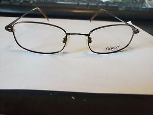 NEW Flexon 603 Eyeglasses 218 Coffee  49 19 140 PERFECT AUTHENTIC