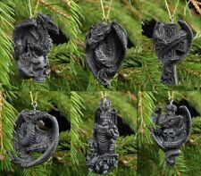 Dragons ornement de l'arbre Noël - Ensemble 6 - FANTASTIQUE GOTHIQUE Boules déco