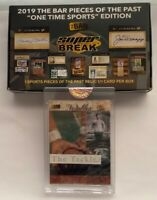 WALTER CAMP 2019 THE BAR 1/1 RELIC VINTAGE RELIC PIECES 70¢ WALTER CAMP US STAMP