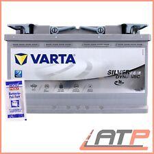 VARTA AGM BATTERIE AUTO-BATTERIE 12V 80AH 800A ERSETZT 74-AH 75-AH 77-AH 79-AH