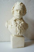 More details for vintage french beethoven figure bust head statue classical music france