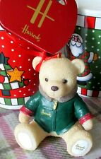 Harrods Christmas Resin 2020 FOOT DATED BEAR sales bag Limited sent signed for