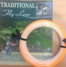 NEW FORMULATED FLY LINES TROUT SHOOTING HEAD TROUT FLY LINE ORANGE / PEACH