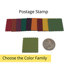 40 Genuine Stampin Up Tool Paper Cardstock Postage Stamp Punch Shape Die Cut Tag