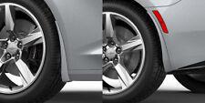 2016-2019 Camaro Genuine GM Front & Rear Splash Guards Silver Ice Metallic