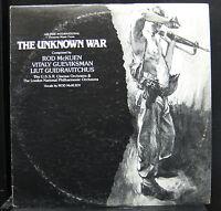 Rod McKuen - The Unknown War 2 LP Mint- SRP-201 Stanyan 1978 Vinyl Record