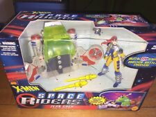Marvel Comics X-Man Space Riders Jean Grey Light Up Hyper Jet By Toy Biz